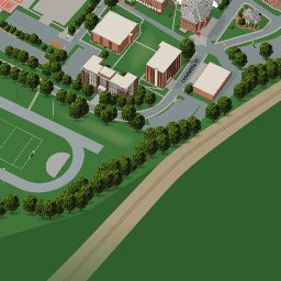 Winston Salem State University Anymap